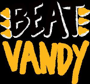 "Hand drawn text ""Beat Vandy"""