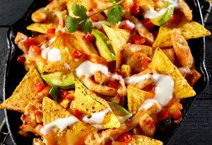 Photo of baked nachos